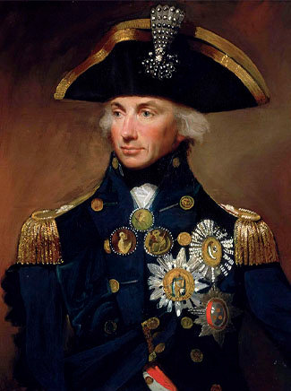 Painting of Lord Nelson