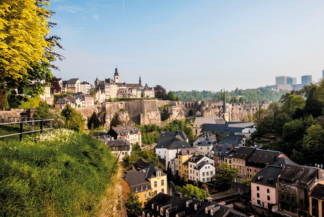 Idyll in the foreground, politics and business power in the background – Luxembourg combines opposites